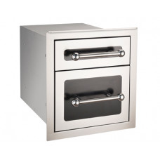 Fire Magic Black Diamond Double Drawer with Soft Close System