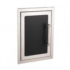 Fire Magic Black Diamond 20  x 14 Single Access Door with Soft Close System, Left Hinge