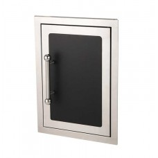 Fire Magic Black Diamond 20 x 14 Single Access Door with Soft Close System, Right Hinge