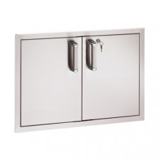 Fire Magic Locking Flush Mount 15 x 30 Double Access Doors (Reduced Height)