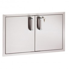"""Fire Magic Locking Flush Mount 38"""" Double Access Door (Reduced Height)"""