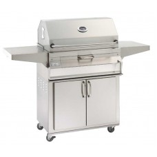 Fire Magic Charcoal Portable Grill with Smoker Hood (24 x 18)