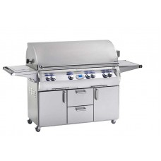 Fire Magic Echelon Diamond E1060s Portable Grill with Flush Mounted Single Side Burner