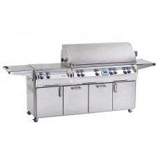 Fire Magic Echelon Diamond E1060s Cabinet Cart Grill with Double Side Burner