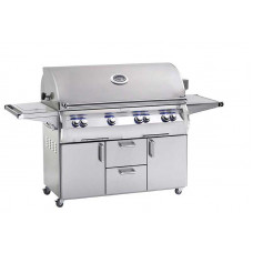 Fire Magic Echelon Diamond E1060s Portable Grill with Flush Mounted Single Side Burner (Analog)