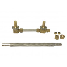 Fire Magic Burner Manifold With Orifices And Tube Fitting for Regal 1 Grills (Pre 2001)