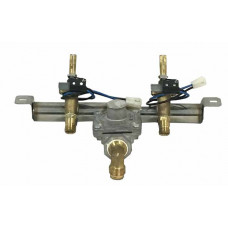 Fire Magic Manifold with Valves and Fittings for Double Side Burner (2007-2008)